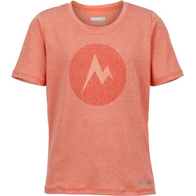 Marmot Girls Post Time Tee SS Emberglow Heather